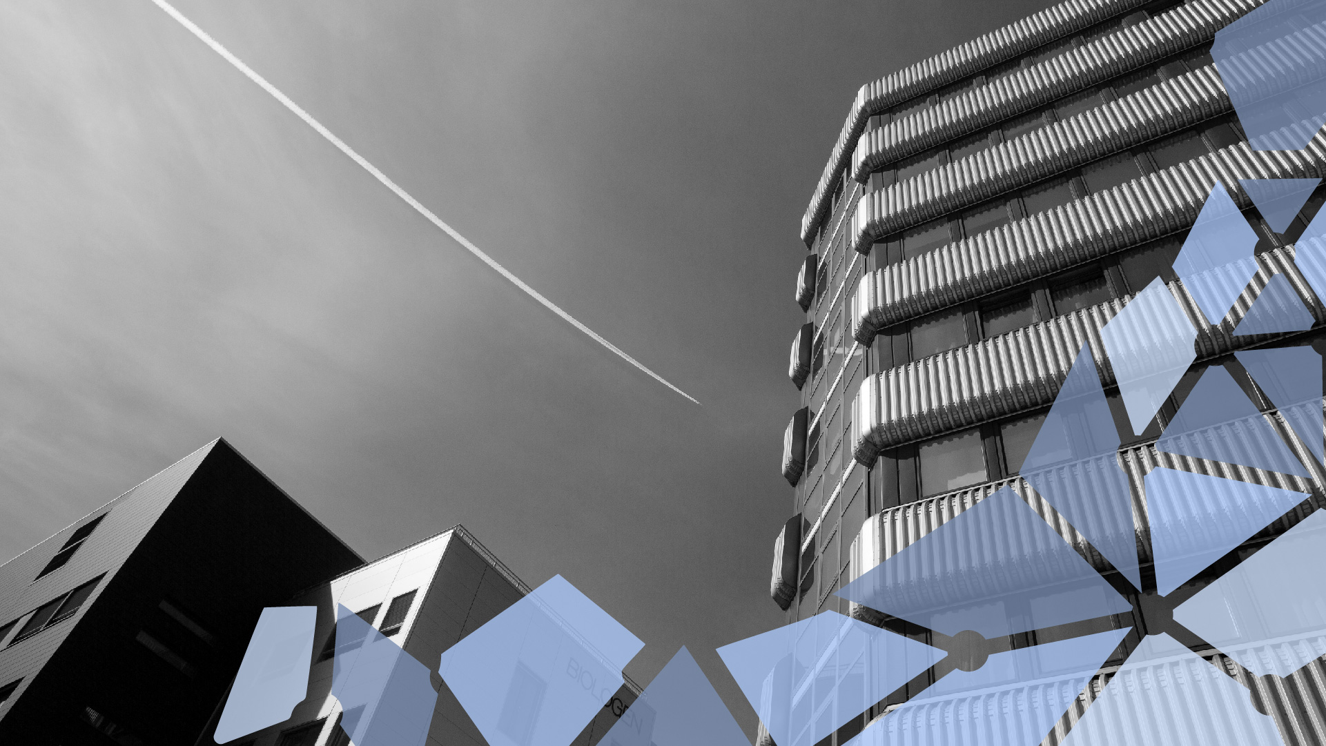 HiB building and sky
