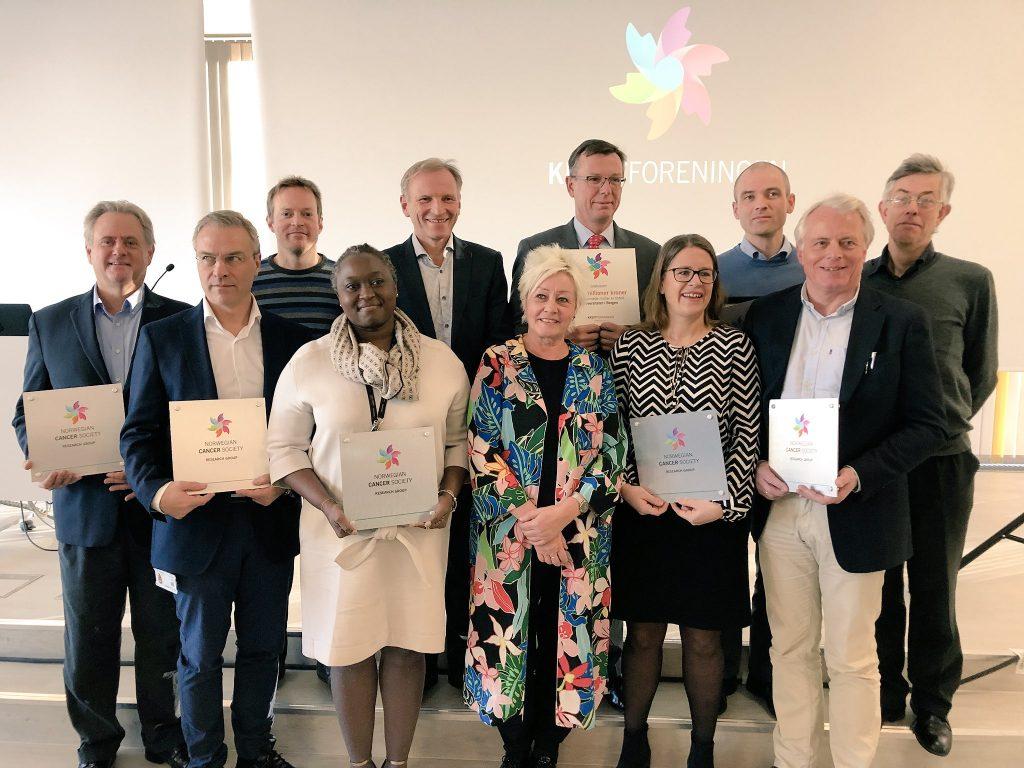Kreftforeningen 2017 award